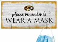 Missouri Tigers Please Wear Your Mask Sign