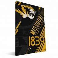 Missouri Tigers Retro Canvas Print