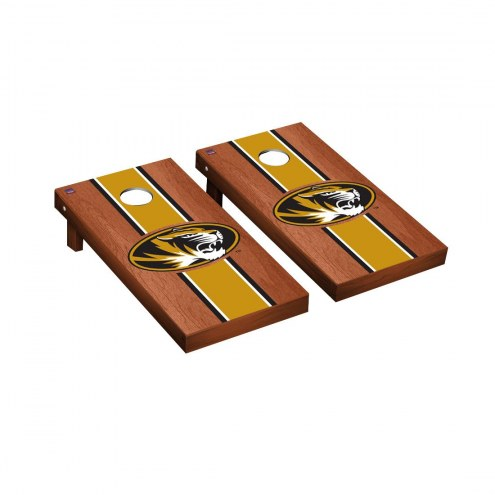 Missouri Tigers Rosewood Stained Cornhole Game Set
