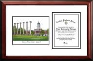 Missouri Tigers Scholar Diploma Frame