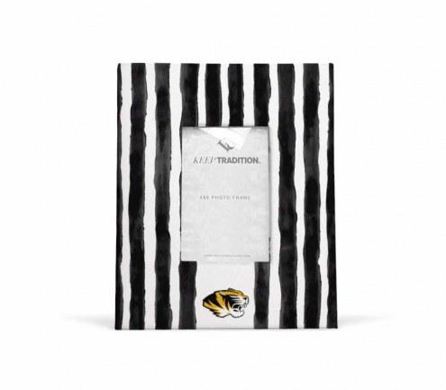 Missouri Tigers School Stripes Picture Frame
