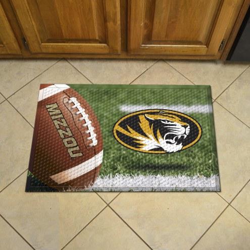 Missouri Tigers Scraper Door Mat