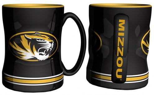 Missouri Tigers Sculpted Relief Coffee Mug