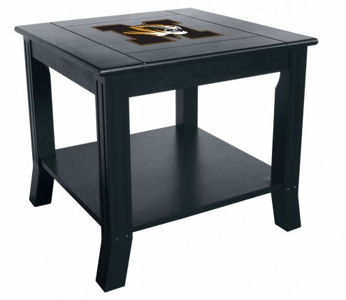 Missouri Tigers Side Table