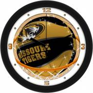 Missouri Tigers Slam Dunk Wall Clock