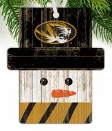 Missouri Tigers Snowman Ornament
