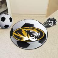 Missouri Tigers Soccer Ball Mat