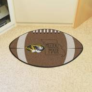 Missouri Tigers Southern Style Football Floor Mat