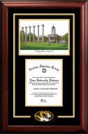 Missouri Tigers Spirit Graduate Diploma Frame