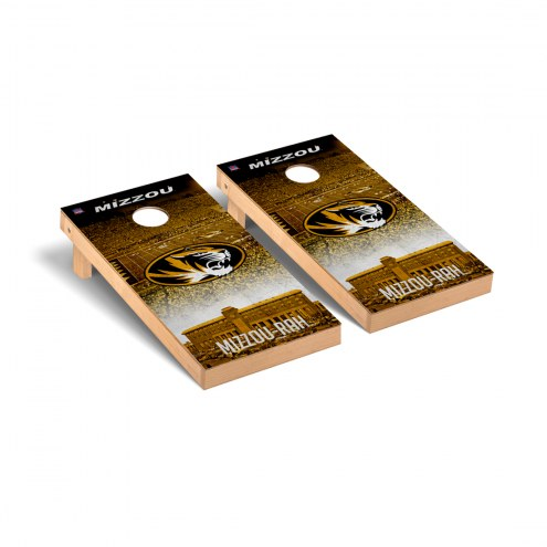 Missouri Tigers Stadium Cornhole Game Set