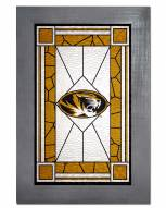 Missouri Tigers Stained Glass with Frame