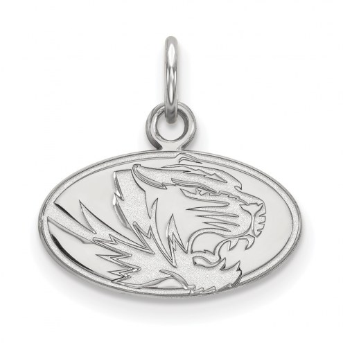 Missouri Tigers Sterling Silver Extra Small Pendant