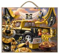 Missouri Tigers Tailgate Plaque