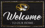 Missouri Tigers Team Color Welcome Sign