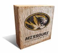 Missouri Tigers Team Logo Block