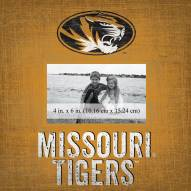 """Missouri Tigers Team Name 10"""" x 10"""" Picture Frame"""