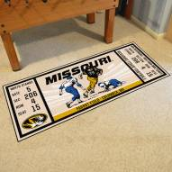 Missouri Tigers Ticket Runner Rug