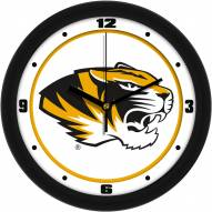 Missouri Tigers Traditional Wall Clock