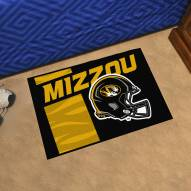 Missouri Tigers Uniform Inspired Starter Rug