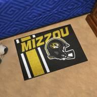 Missouri Tigers Uniform Inspired Starter Rug