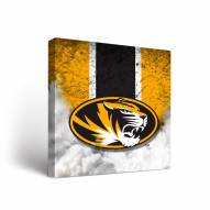Missouri Tigers Vintage Canvas Wall Art