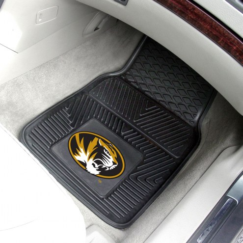 Missouri Tigers Vinyl 2-Piece Car Floor Mats
