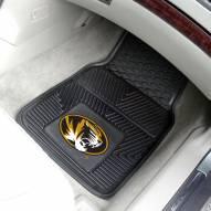 Missouri Tigers Vinyl 2-Piece Car Floor Mats