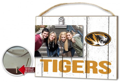 Missouri Tigers Weathered Logo Photo Frame