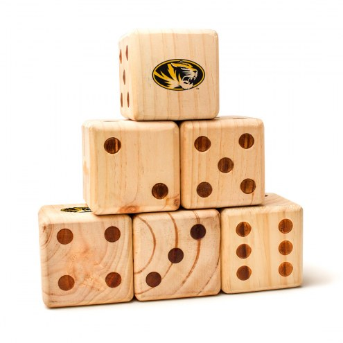 Missouri Tigers Yard Dice