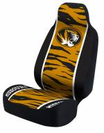 Missouri Tigers Yellow/Black Tiger Stripe Universal Bucket Car Seat Cover