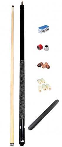 Mizerak Hardwood Cue and Case Combo