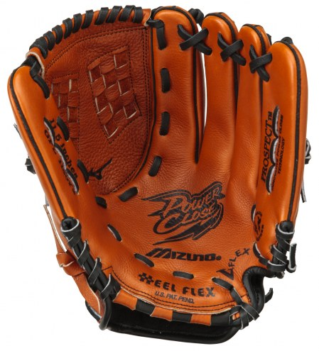 """Mizuno GPL1150Y2 Prospect Leather 11.5"""" Youth Utility Baseball Glove - Right Hand Throw"""