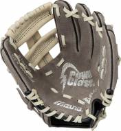 "Mizuno GPP900Y2GY Prospect 9"" Pigskin Leather Youth Utility Baseball Glove - Right Hand Throw"