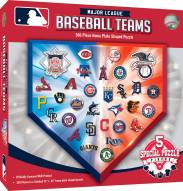 MLB 500 Piece Home Plate Shaped Puzzle