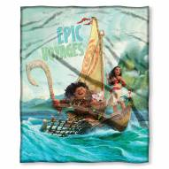 Moana Epic Voyages Silk Touch Blanket