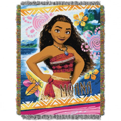 Moana Island Girl Throw Blanket