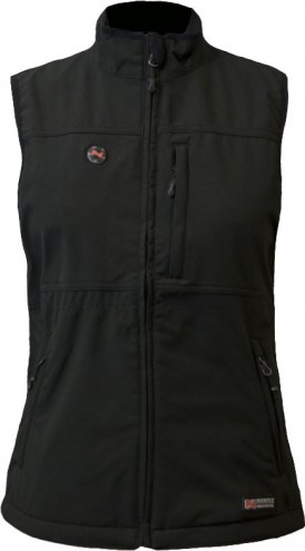 Mobile Warming Women's Whitney Touch Button Heated Vest
