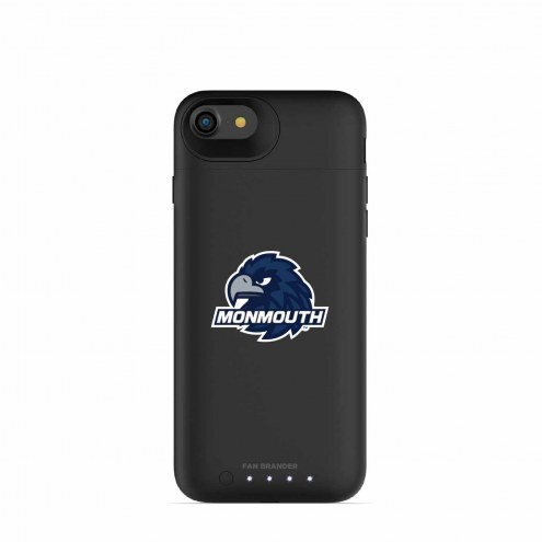 Monmouth Hawks mophie iPhone 8/7 Juice Pack Air Black Case