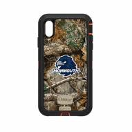 Monmouth Hawks OtterBox iPhone XS Max Defender Realtree Camo Case