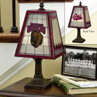 Montana Grizzlies Art Glass Table Lamp