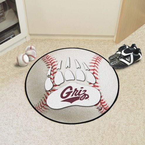 Montana Grizzlies Baseball Rug