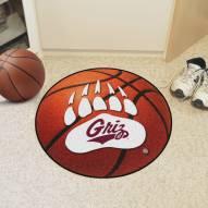 Montana Grizzlies Basketball Mat