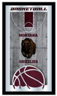 Montana Grizzlies Basketball Mirror