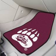 Montana Grizzlies Black 2-Piece Carpet Car Mats