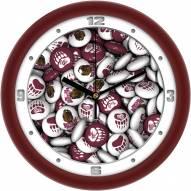 Montana Grizzlies Candy Wall Clock