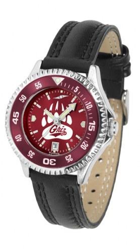 Montana Grizzlies Competitor AnoChrome Women's Watch - Color Bezel