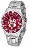 Montana Grizzlies Competitor Steel AnoChrome Color Bezel Men's Watch