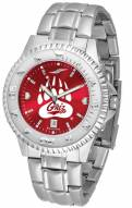 Montana Grizzlies Competitor Steel AnoChrome Men's Watch