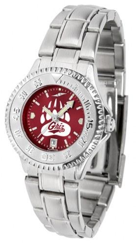 Montana Grizzlies Competitor Steel AnoChrome Women's Watch