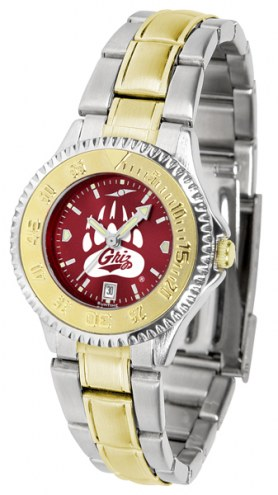 Montana Grizzlies Competitor Two-Tone AnoChrome Women's Watch